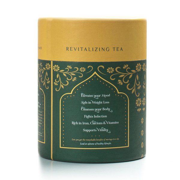 Moringa Green Tea Left