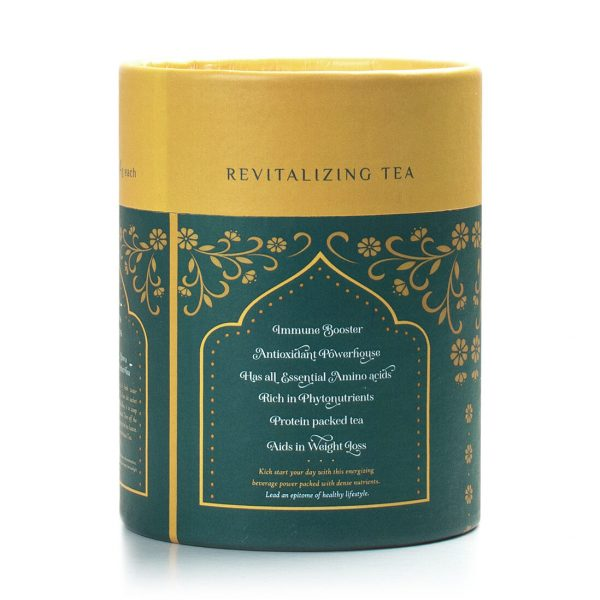 Spirulina Green Tea Left