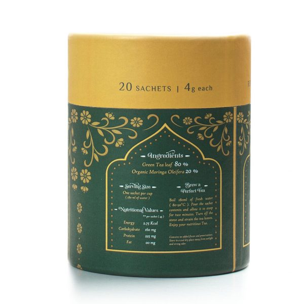 Moringa Green Tea Right