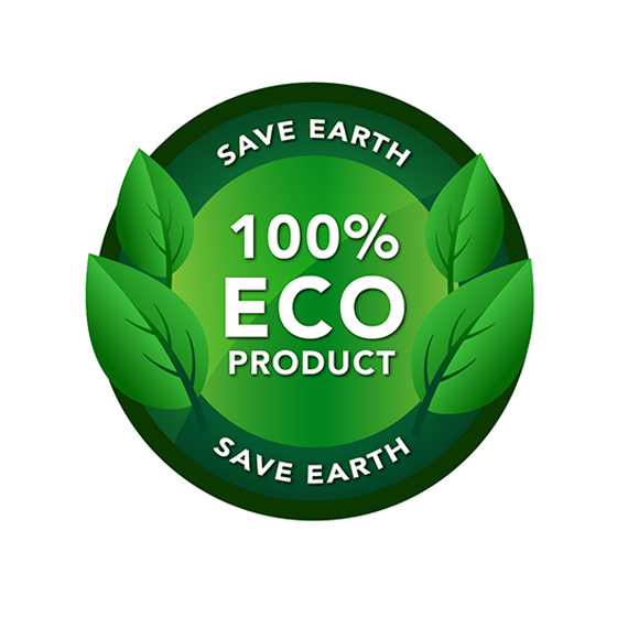 100% Organic Product Icon